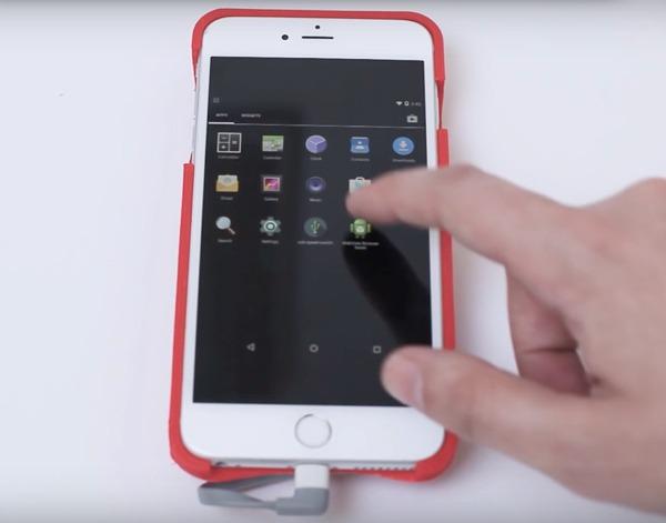Convierte tu iPhone en Android en segundos gracias a esta funda