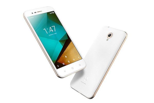 Vodafone Smart Prime 7, un móvil de entrada con diseño metálico
