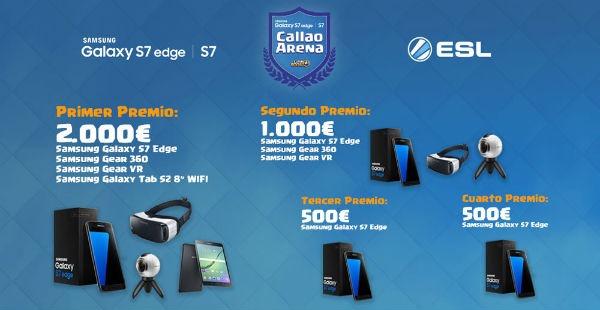 Samsung Galaxy Callao Arena, el torneo de Clash Royale del Samsung Galaxy S7