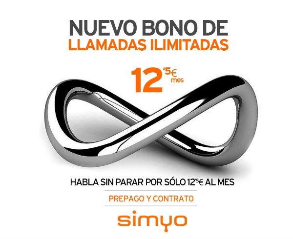 Nuevo bono de Simyo de llamadas ilimitadas solo a 150 destinos
