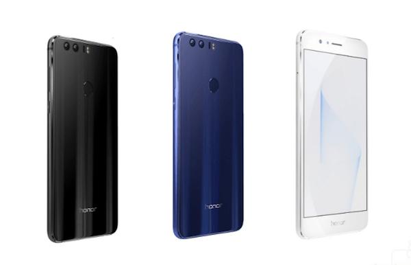 Huawei anuncia el Honor 8, un móvil con cámara dual y 4 GB de memoria