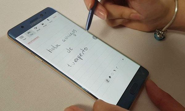 Así de resistente se muestra el Samsung Galaxy Note 7 en un vídeo