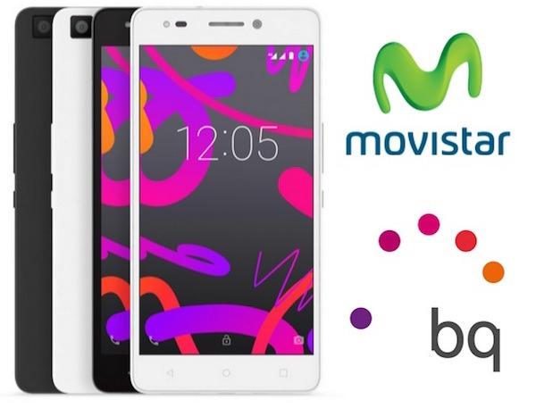 4594f3caa33 Movistar saca los móviles BQ de su catálogo