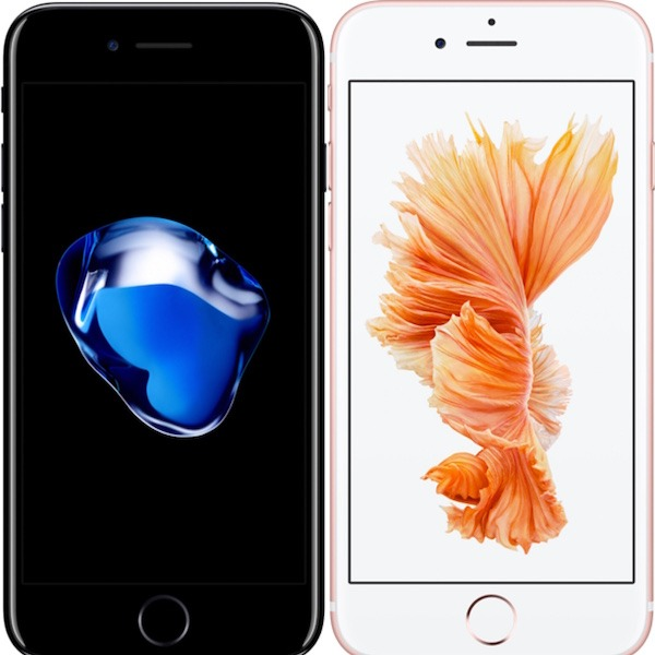 Comparativa iPhone 7 Vs iPhone 6s