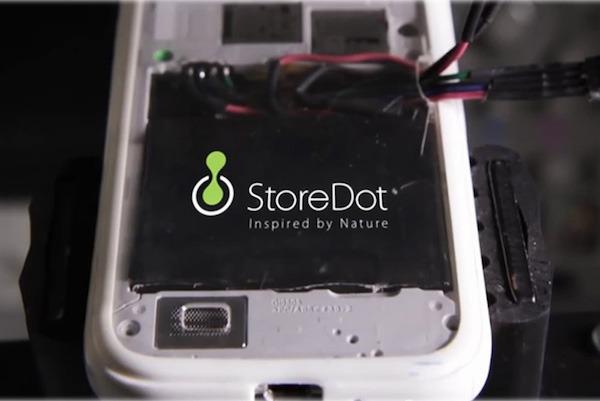 StoreDot flashbattery