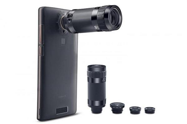 lente cámara
