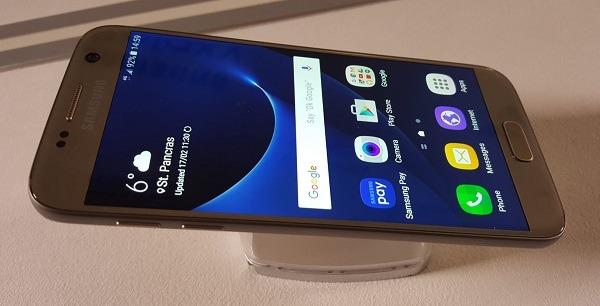 El Samsung Galaxy S7 se actualizará pronto a Android 7.0