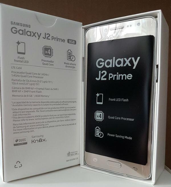 El Samsung Galaxy J2 Prime aparece en Amazon