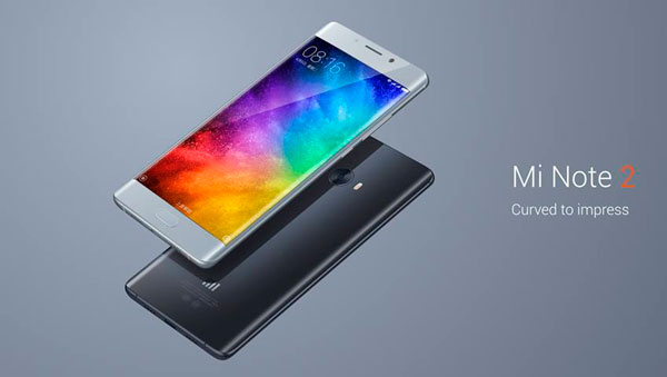 Xiaomi Mi Note 2, un móvil con curvas para la gama alta