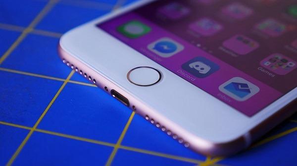 iphone 7 boton