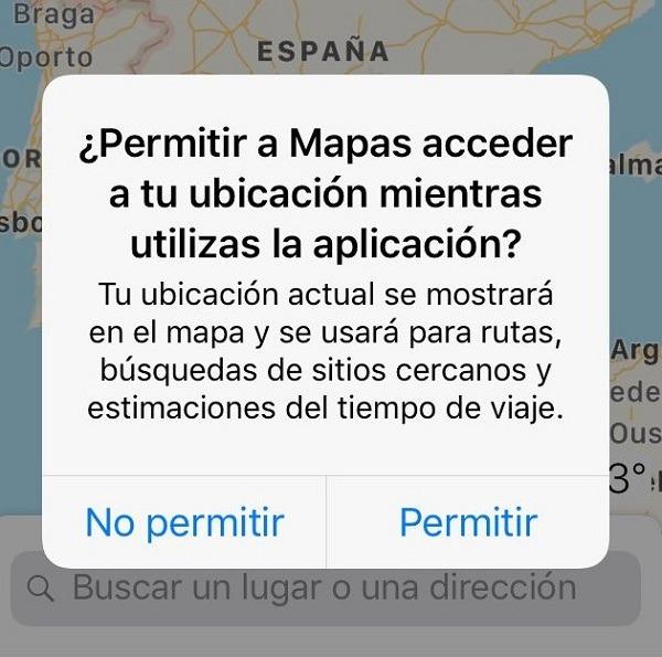 notificaciones maps