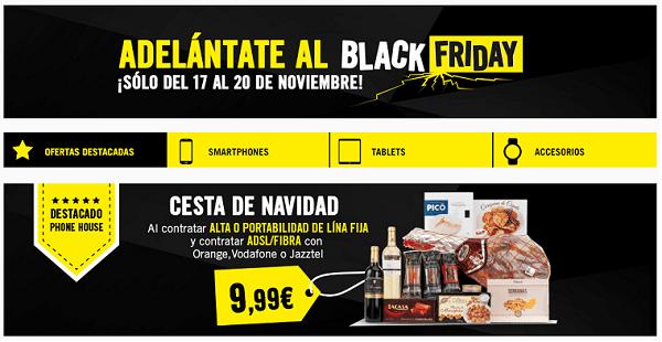 Las ofertas de móviles en Phone House por el Black Friday