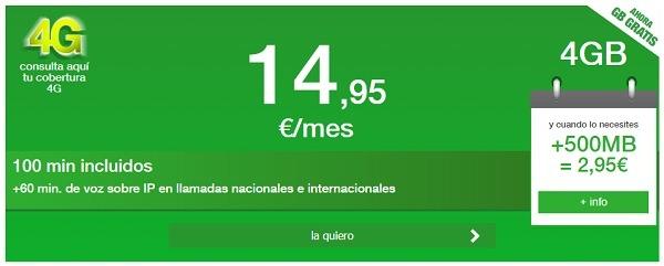 amena 15(quince) euros