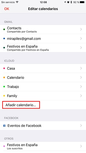 app almanaque ios spam