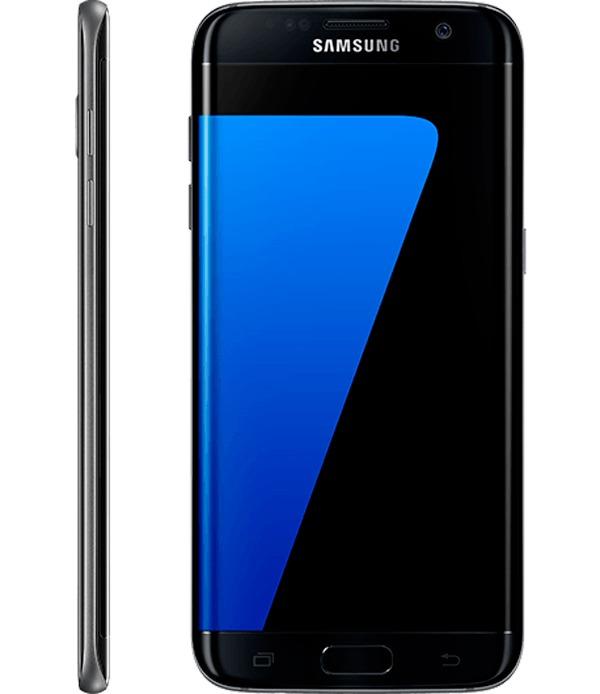 galaxy s7 negro brillante