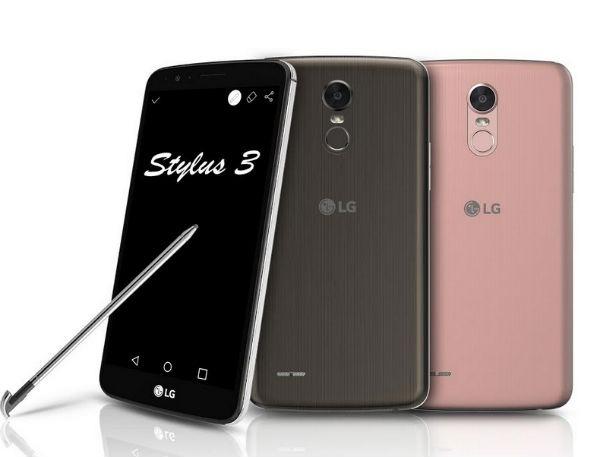 LG Stylus 3, móvil de gran pantalla con lápiz óptico