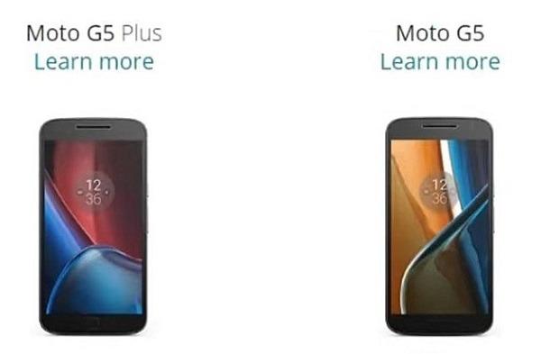 Filtradas imágenes de los nuevos Lenovo Moto G5  y G5 Plus