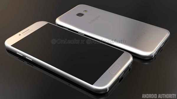 Los Samsung Galaxy A5 2017 y A3 2017 aparecen en vídeo