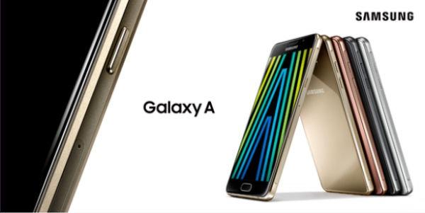 Samsung Galaxy A Android Nougat