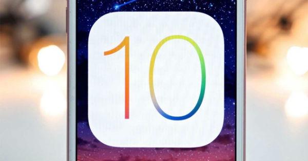 iOS 10 batería