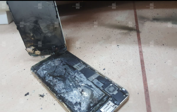 iPhone 6S explota