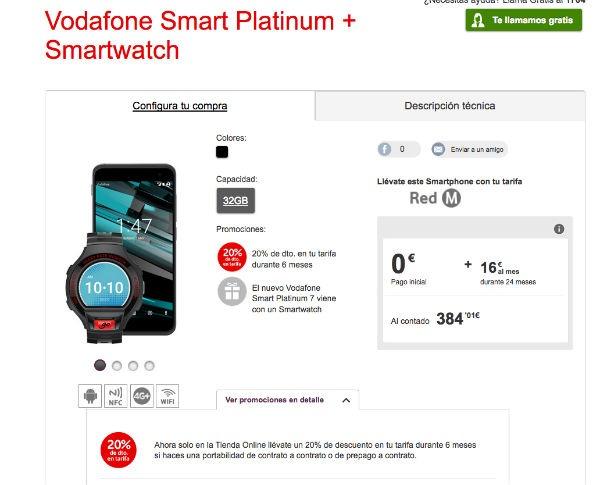 ofertas Vodafone® navidad Voda