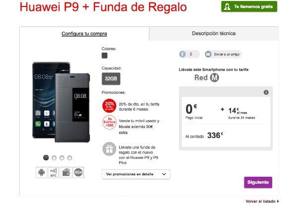 ofertas Vodafone® navidad Huawei