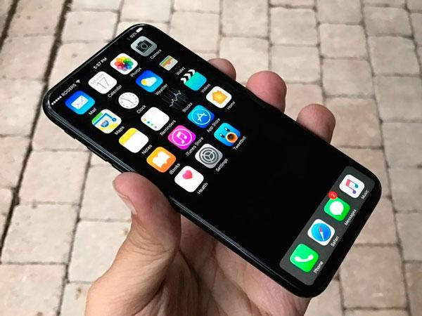 iphone 8(ocho) pantalla curvada