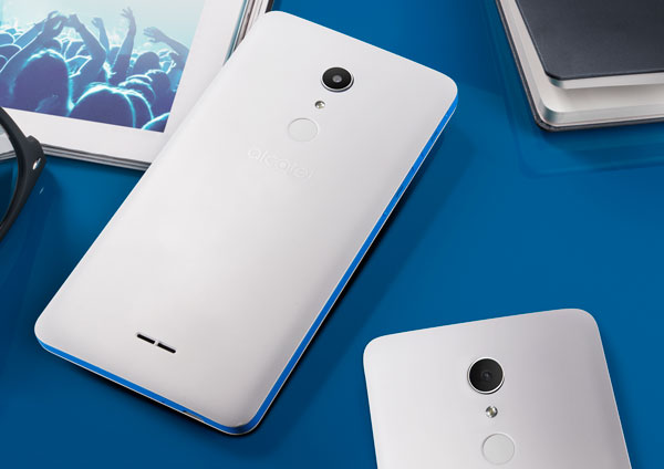 alcatel a3 xl reborde azul
