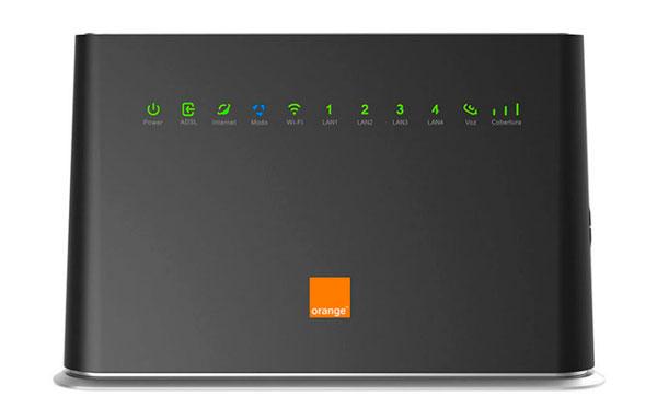 Orange lanza un router híbrido con WiFi y 4G por 10 euros mes