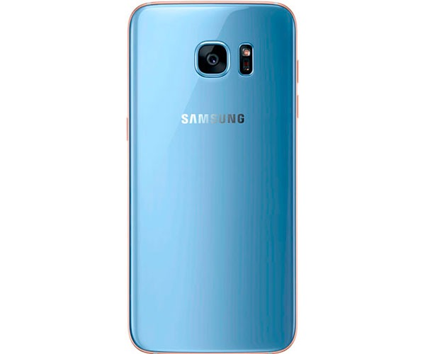 samsung galaxy s7 edge azul trasera