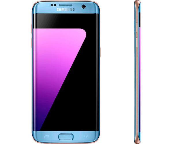 samsung galaxy s7 edge azul lateral