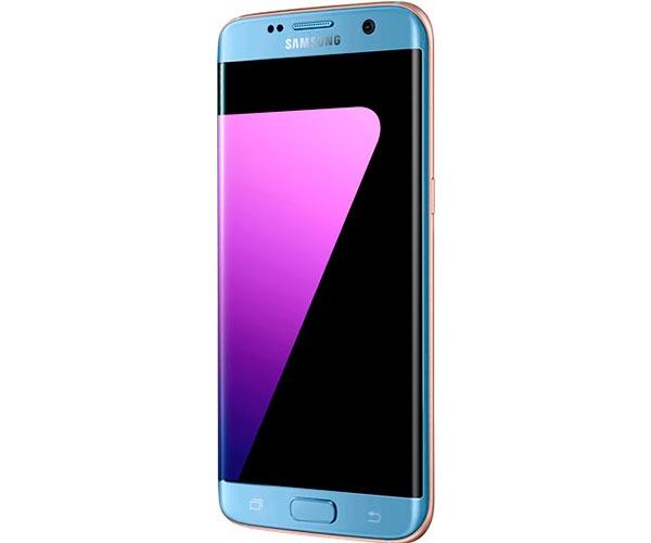 samsung galaxy s7 edge azul ladeado
