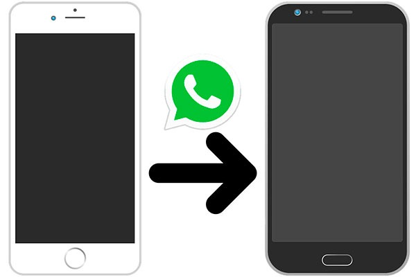Cómo pasar tu WhatsApp de un iPhone a un móvil Android