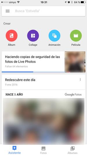 como pasar fotos de un iphone a un android google fotos sincro