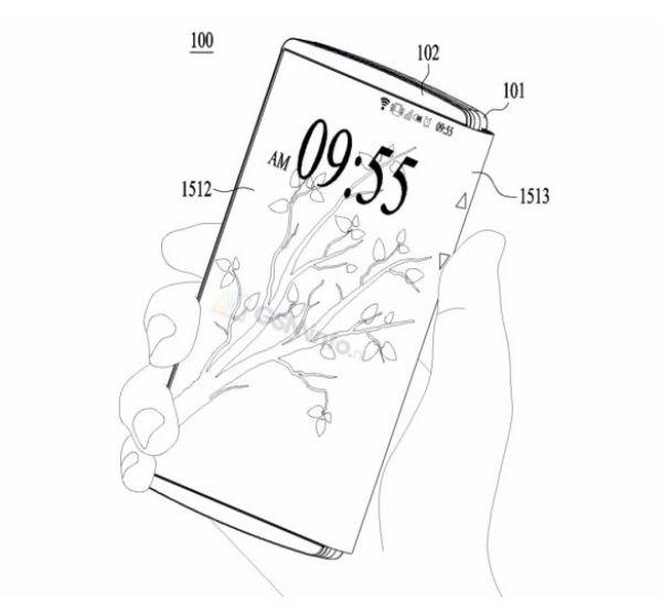 Así podría ser el móvil plegable de LG