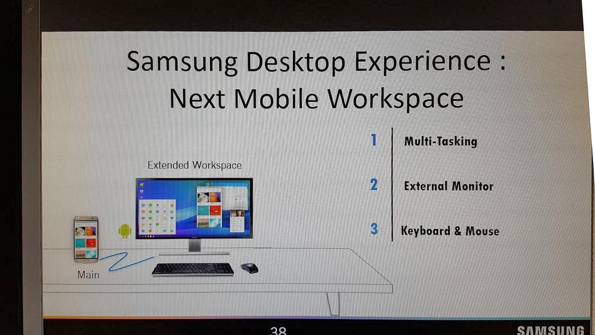 Función PC Galaxy™ S8
