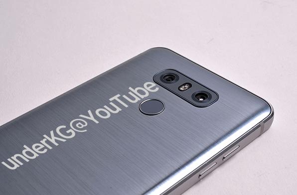 Se filtran nuevas imágenes del LG G6
