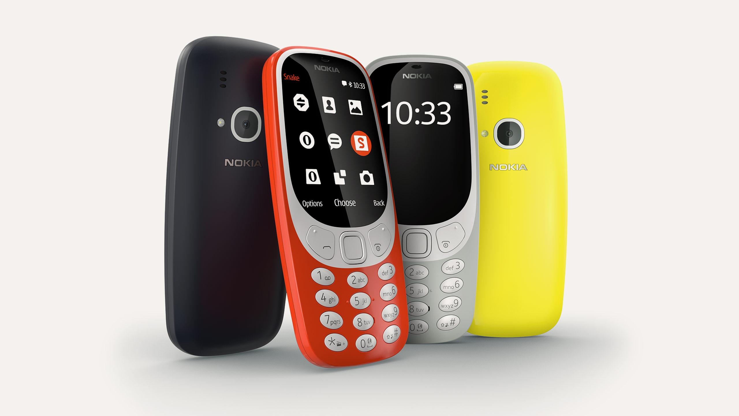 Nokia 3310, la vuelta de un clásico con videojuego de la serpiente
