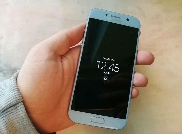 Samsung Galaxy A5 2017 recibe el parche de seguridad de mayo