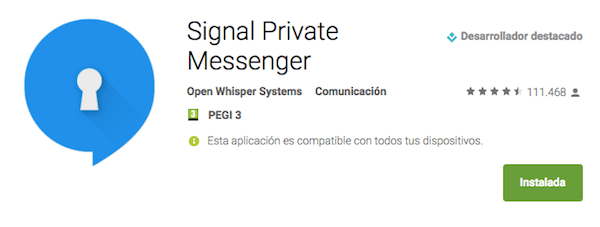 signal app android