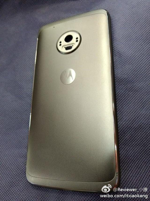 Nueva imagen real de la parte trasera del Moto G5 Plus