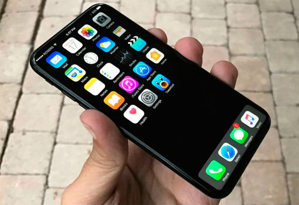 posible diseño del iphone 8