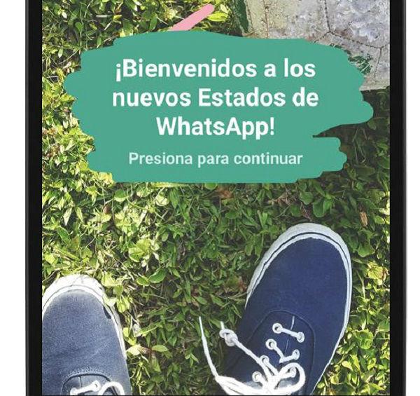 Quién puede ver los nuevos estados de WhatsApp