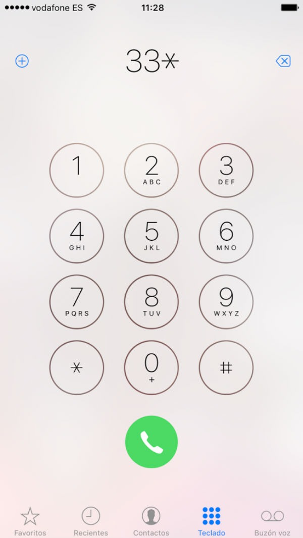 iPhone llamadas