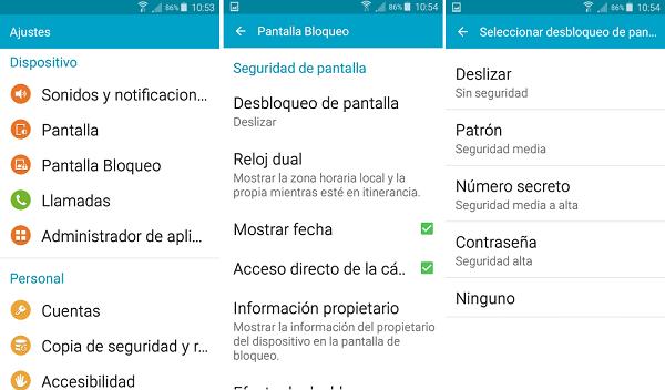patrón android