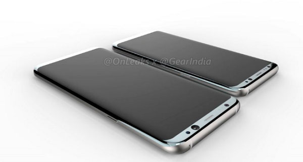 posible samsung galaxy s8 render