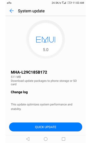 Actualización Huawei™ Mate 9