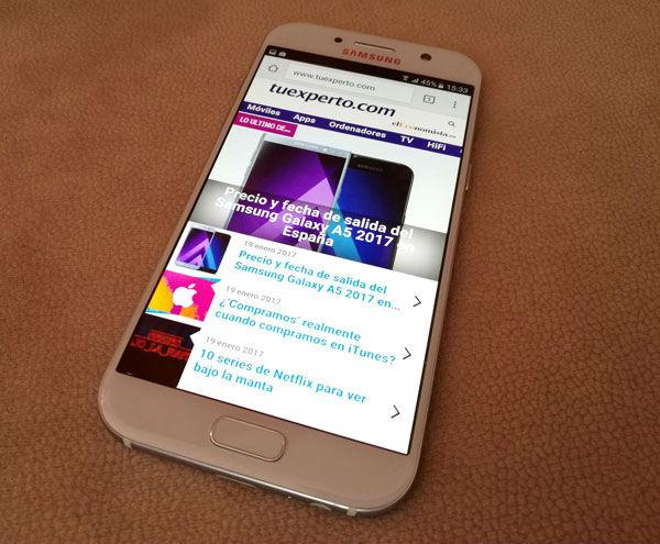 Samsung Galaxy A5 2017 diseño
