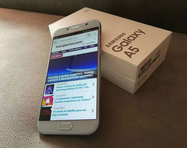 Actualización con mejoras para el Samsung Galaxy A5 2017